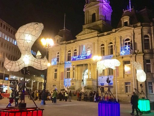 Dewsbury Christmas Lights Switch On